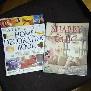 Home Decorating Instruction & Shabby Chic Books!